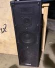 DJ set versterker 250W en 2 luidsprekers 2 x 150W
