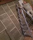 Ladder met 7 treden.