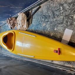 Kayak 1p met peddel