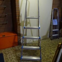 Trapladder 1 meter hoog