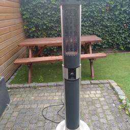 elektrische terrasverwarmer 1000/2000w