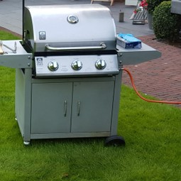 barbecue op gas
