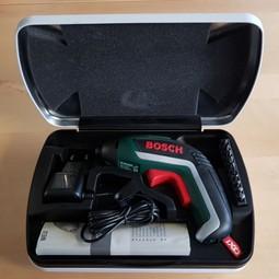 Bosch IXO schroefmachine voor moeilijke plekken