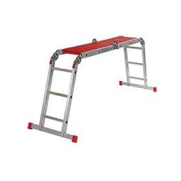 kamersteiger / Altrex ladder met steigerplankjes