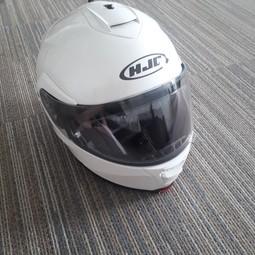 HJC IS-MAX 2 medium motorfietshelm wit