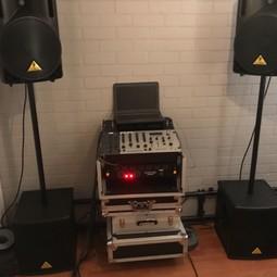 Geluidset speakerset microfoonset subwoofers