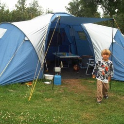 Luxe 6p koepeltent