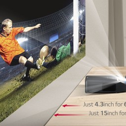 Full HD (Ultra short-throw) beamer van LG