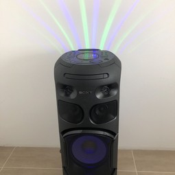 Sony high power speaker met Bluetooth, usb, cd en dvd speler