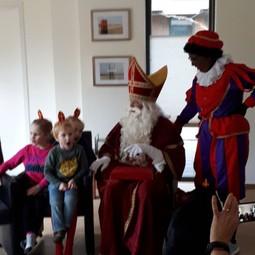 Sinterklaas huisbezoek