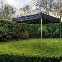 Partytent easy up 3x3 met zijwanden