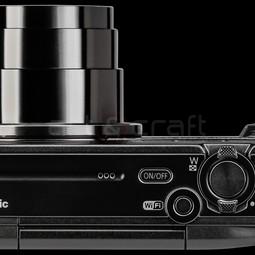 Panasonic DMC-TZ57 vlog camera+hoesje