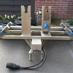 Fietsendrager voor 2 fietsen op de auto (Twinny-load)