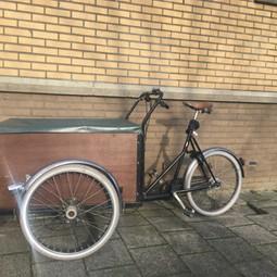 Christiania driewieler bakfiets met 7 versnellingen en ruime bak