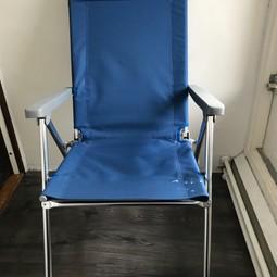 2 Wildebeast klapstoelen / campingstoelen met lange rug
