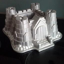Taartvorm kasteel
