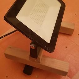 Bouwlamp LED 50 watt