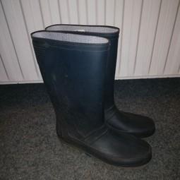 Rubber laarzen maat 38 donkerblauw