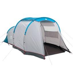 Tent of caravan