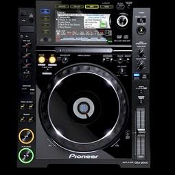 DJ set 2 X CDJ 2000 Pioneer controllers + DJM 600 mengpaneel