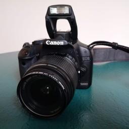 Canon EOS 500D digitale spiegelreflex camera