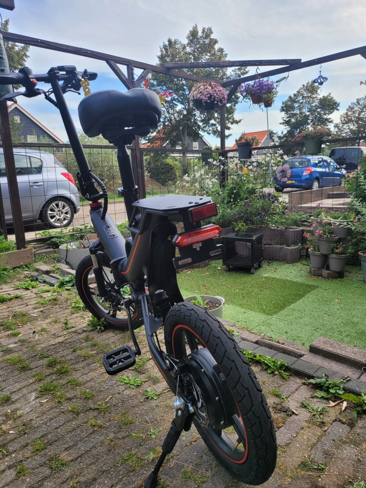 Opvouwbare E-bike