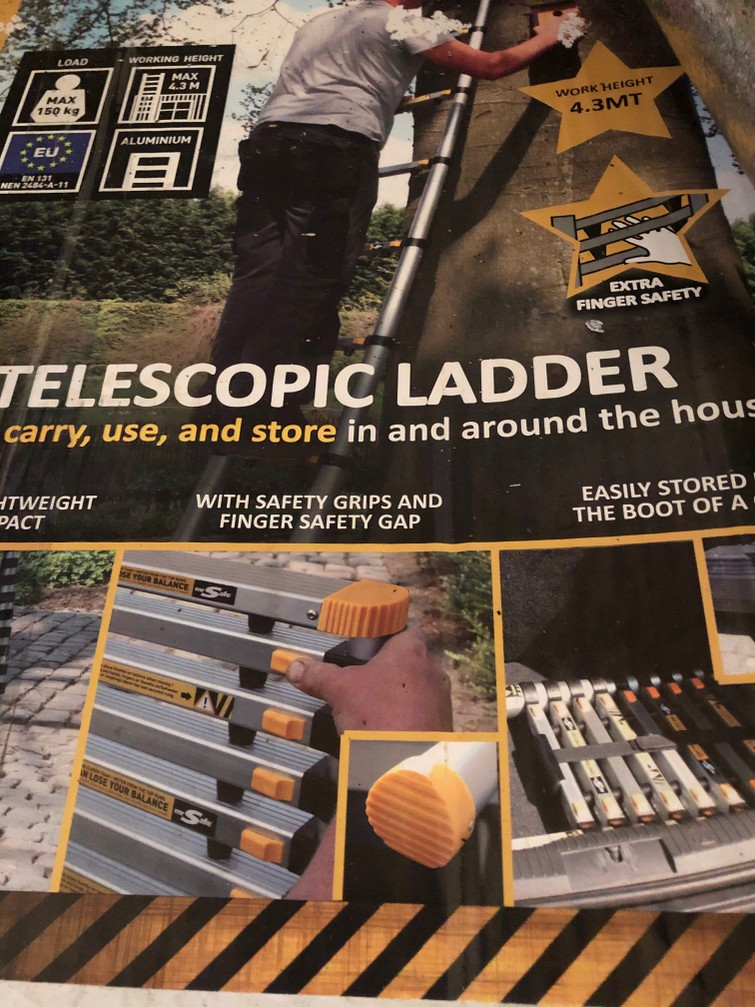 Telescopische ladder 3,2 meter