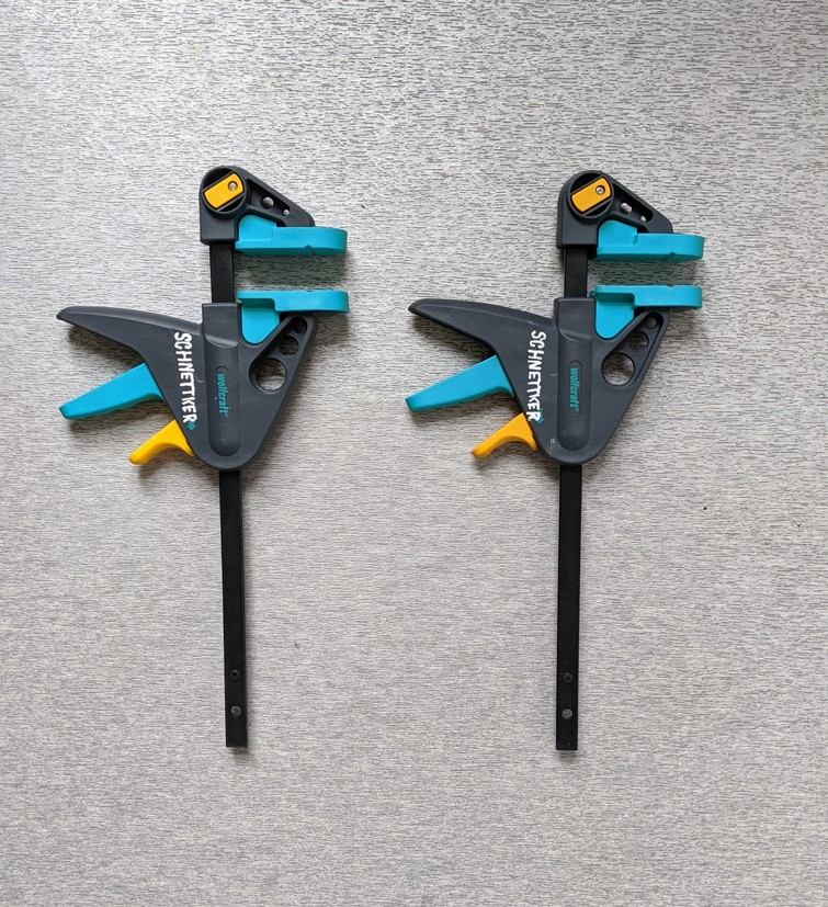 clamps, quick to adjust