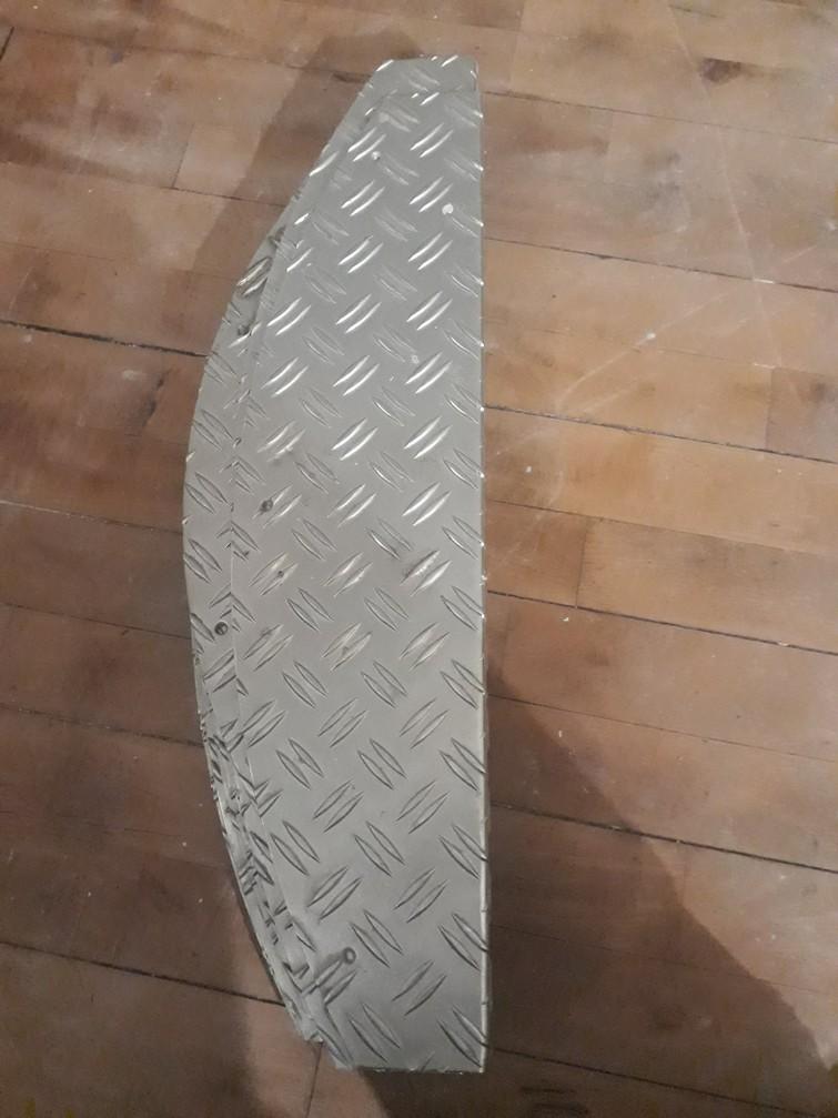 Trapmat van aluminium