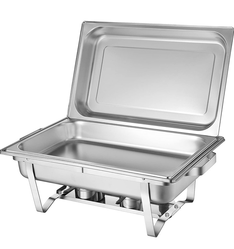 Warmhoudbak - Chafing Dish - warmhoudschalen - buffet