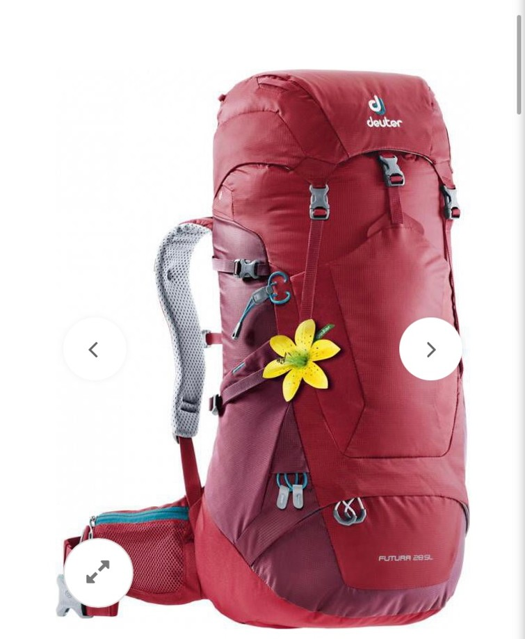 Deuter wandelbackpack 28l