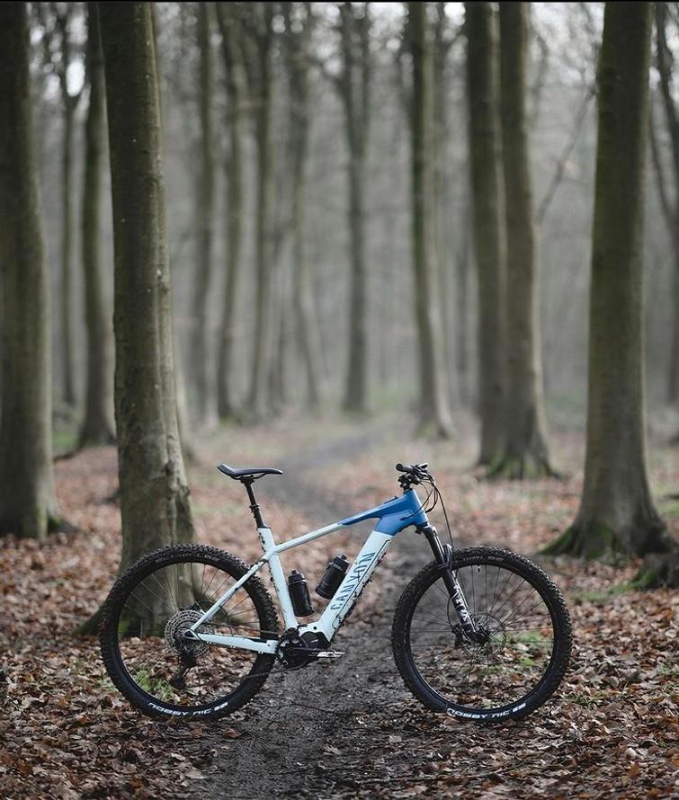 Canyon E-mountainbike