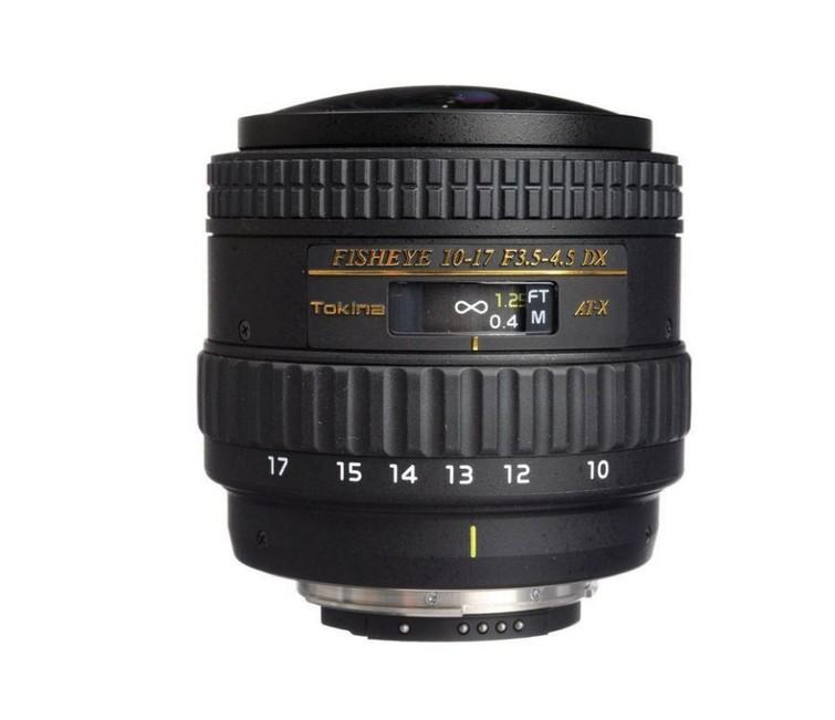Tokina fisheye lens