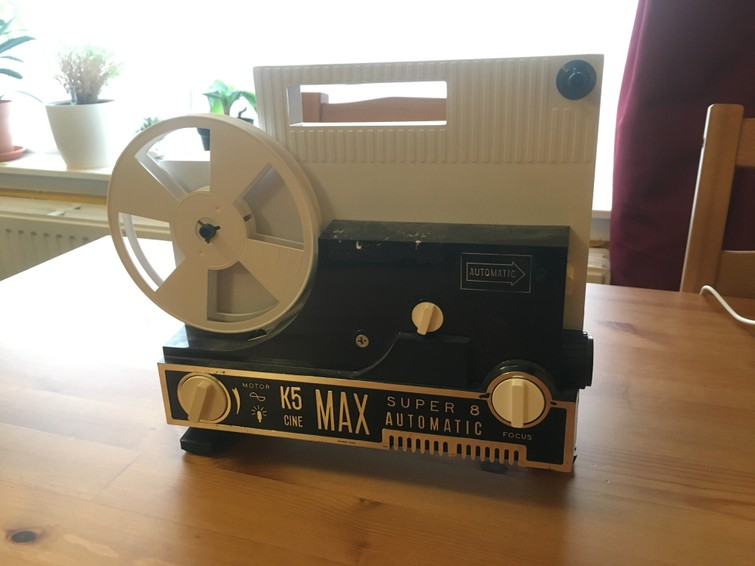 Oude super 8 projector