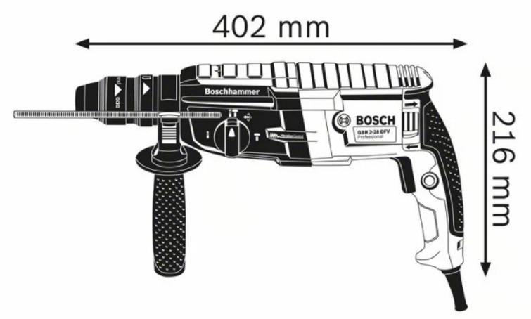 Nieuwe Bosch Klopboormachine / Boorhamer