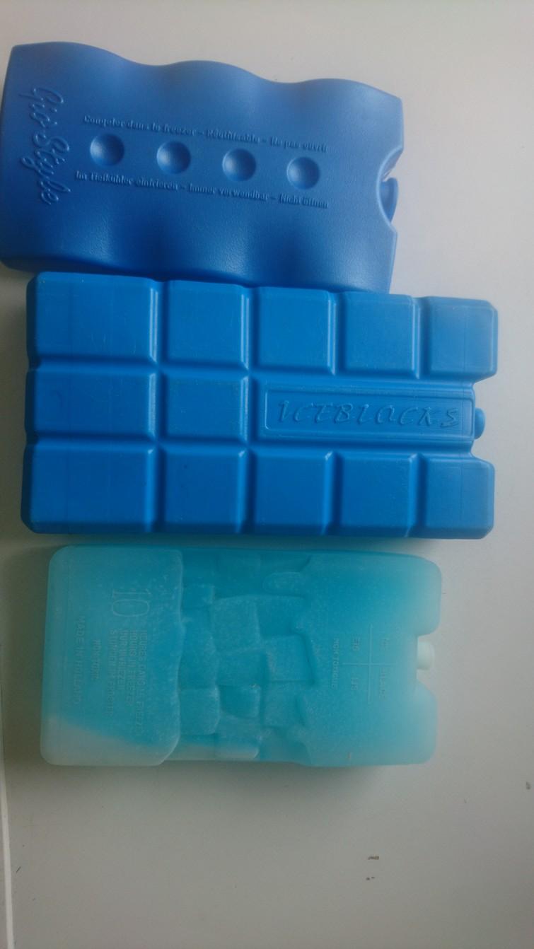 Koelelementen / ijsblokken