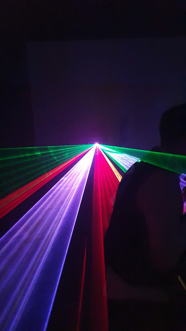 Professionele laser voor lichtshow