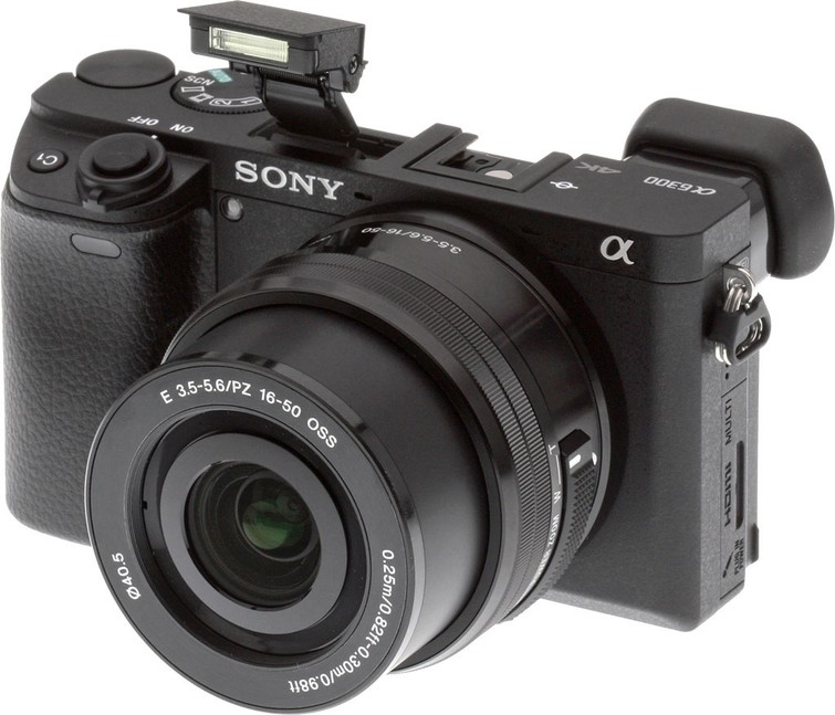 Sony Alpha 6300 systeemcamera met 4k