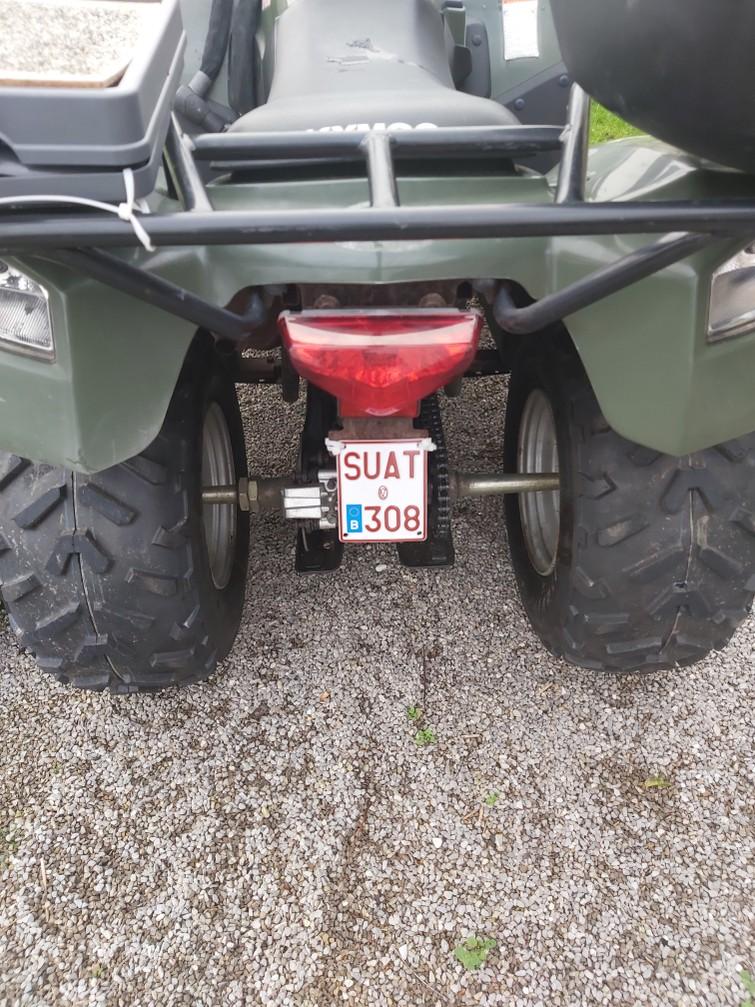 Quad 50cc. Nieuwe banden