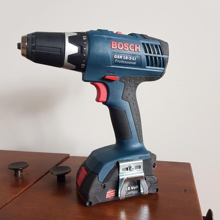 Accuboormachine met bits en boortjes   Bosch Professional