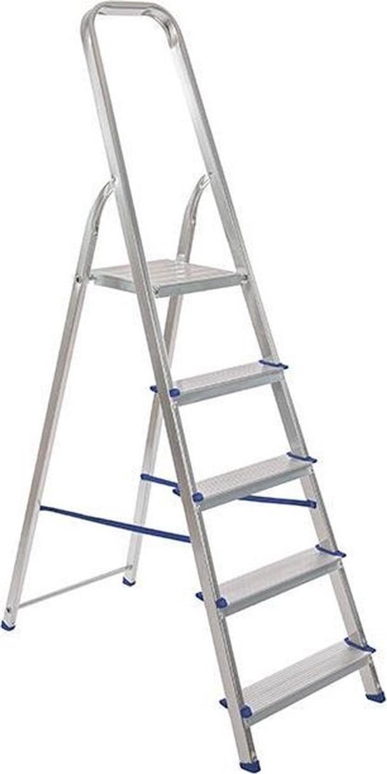 Aluminiumtrapladder (5 treden)