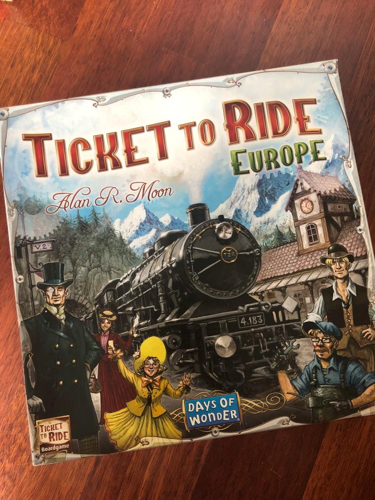Spellen | Ticket to Ride (Europe)