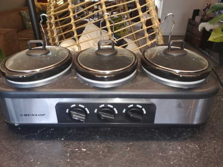 3 pans slowcooker