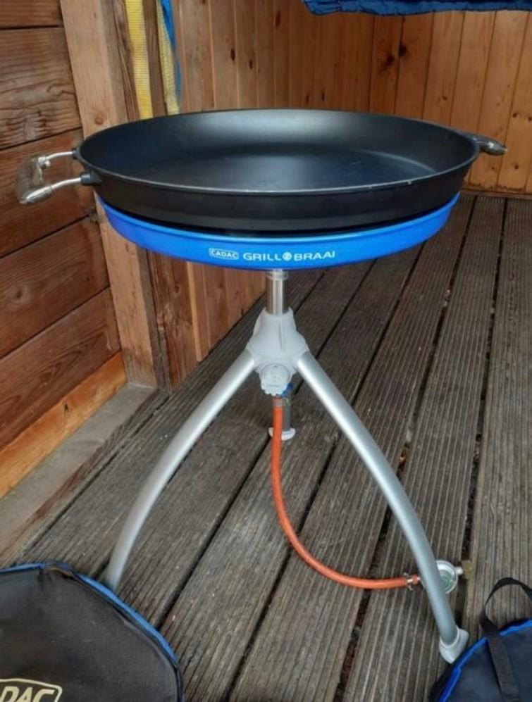 Cadac skottelbraai + grill braai