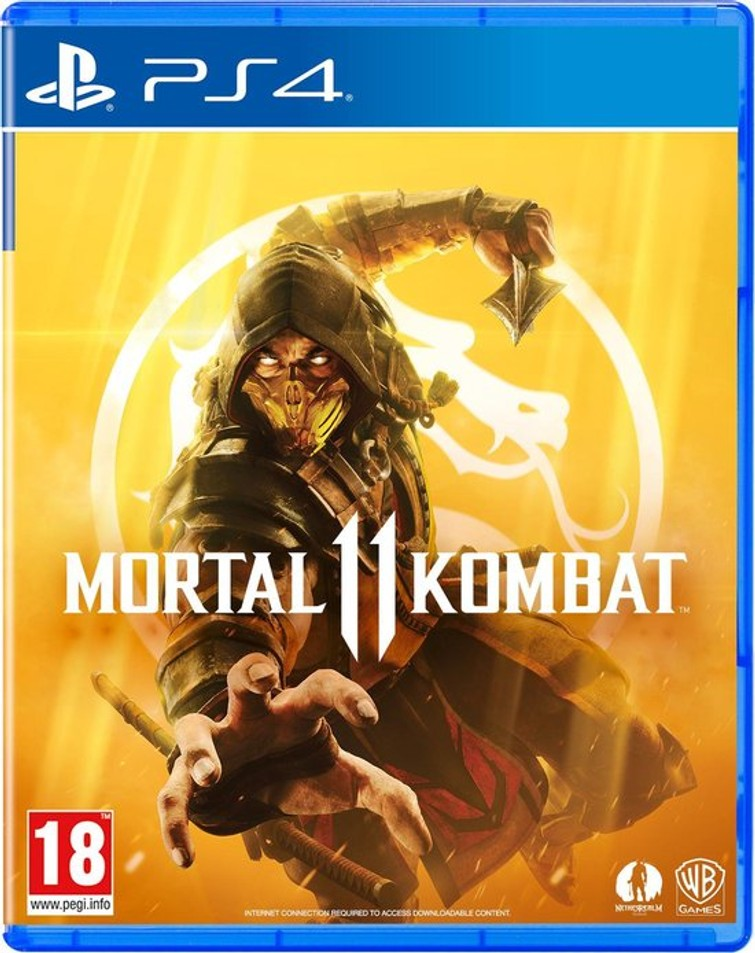 Mortal Kombar 11 ps4