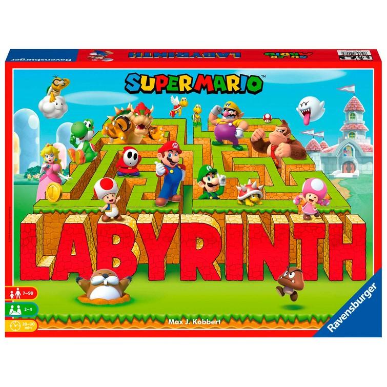 Doolhof/labyrinth super Mario versie