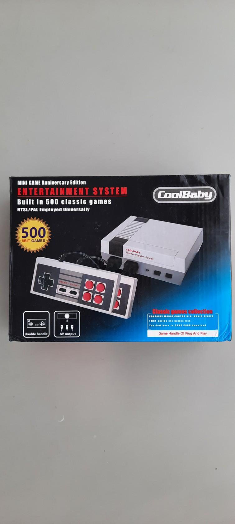 NES (Nintendo Entertainment System) game console