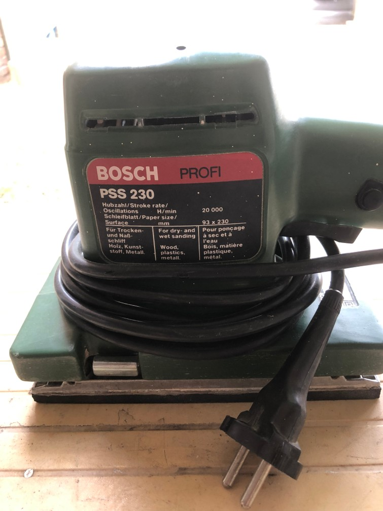 Vlakschuurmachine Bosch