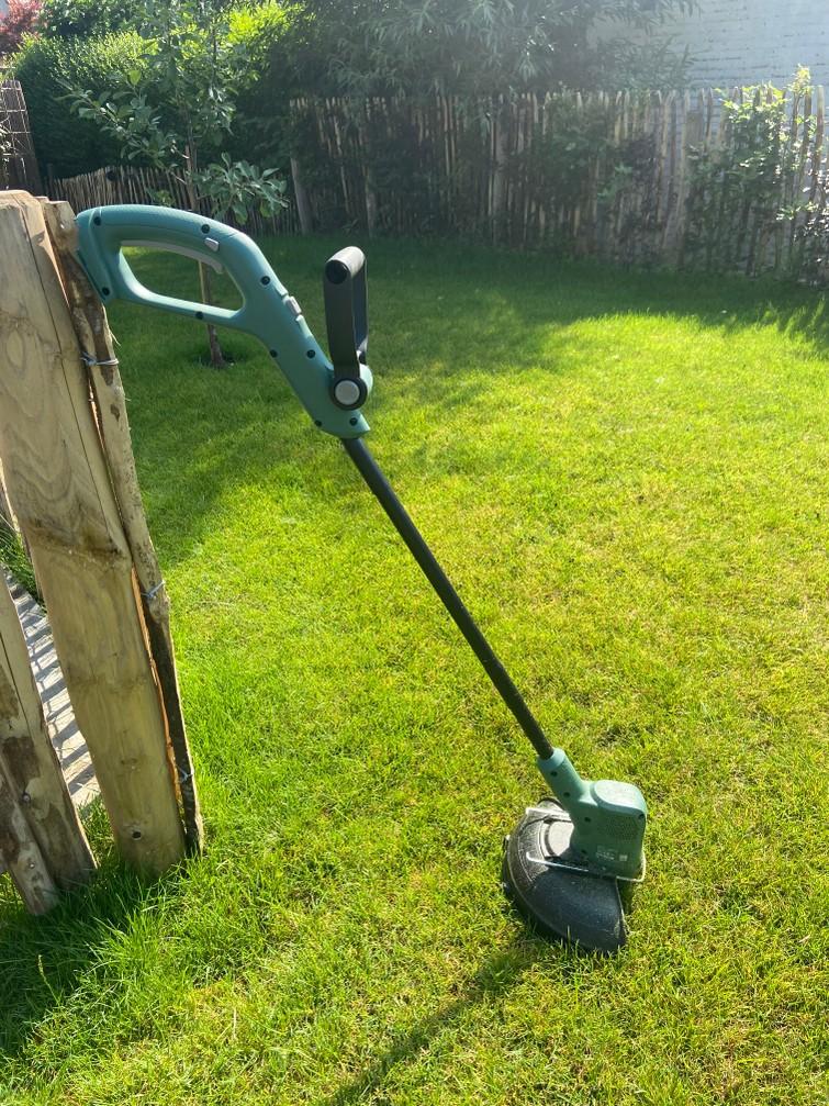 Elektrische kantenmaaier voor gras