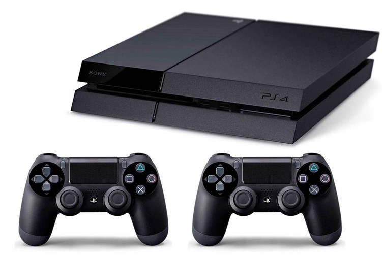 Playstation 4 incl. 2 controllers